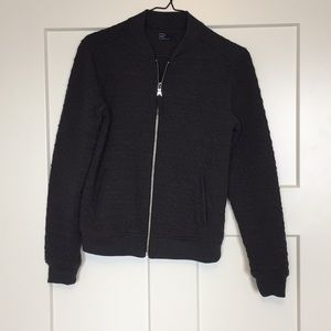 Charcoal Sz Small Quilted Gap Jacket